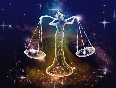 20428907-9-月---10-月は、数ヶ月の干支のバランス天秤座のサインは正義、バランスおよび平衡の空気、この記号の芸術的、感情的な代表者のスペース属性です