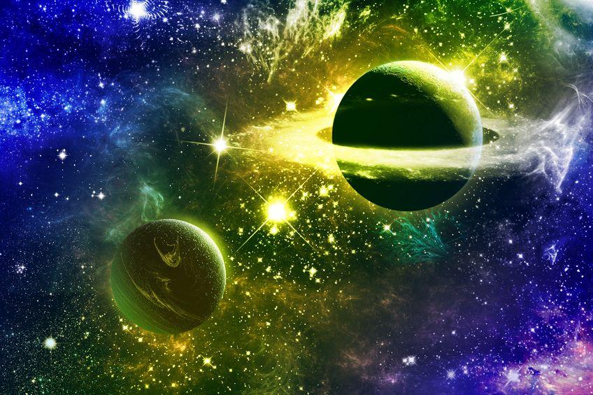 9170002 - universe galaxy nebulas stars and planets